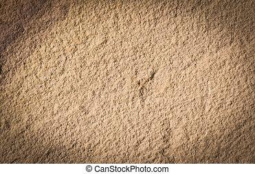 areia, pedra