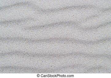 areia, prata, ondas