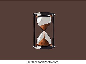 areia, relógio