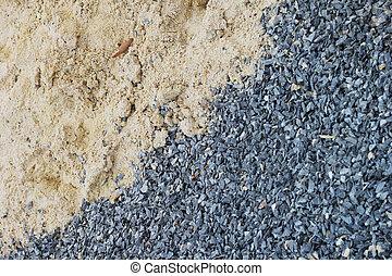 areia, stone.
