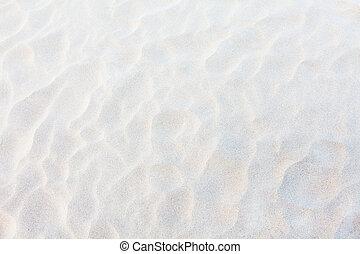 arena blanca, plano de fondo