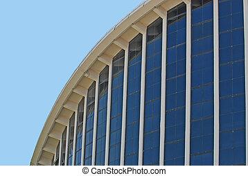Arena - Close up of arena at North Carolina fairgrounds