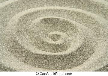 arena, espiral