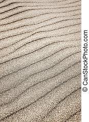 arena, ondas, plano de fondo
