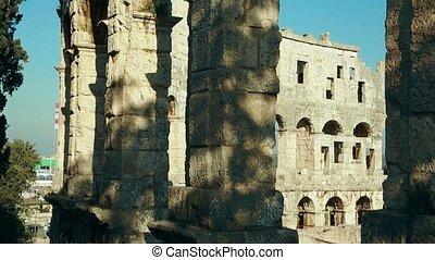 arena, pula, amfiteatr, pula, rzymski, chorwacja