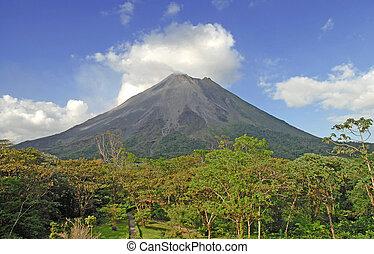 arenal vulkán, costa rica