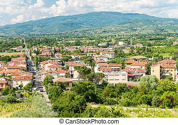 Arezzo. City aerial view - Italy