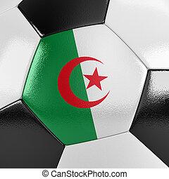argélia, bola futebol
