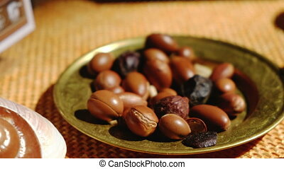 Argan oil is made by Argan nuts - Argan fruit useful...