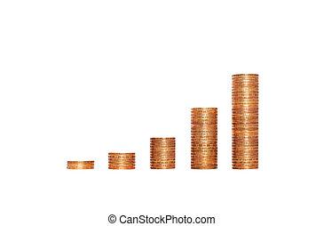 argent, économie, graphique