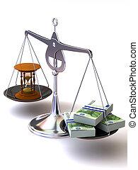 argent, équilibre, temps