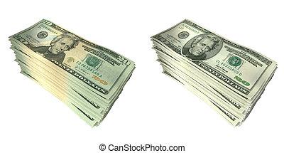 argent, 01, piles