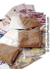 argent, 2, drogue