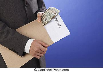 argent, achat, contrat