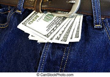 argent, boucle, ton