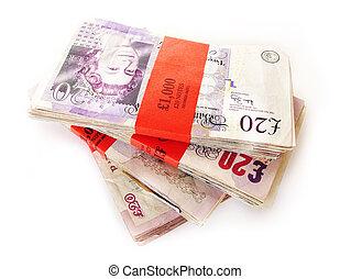 argent, cacher, anglaise