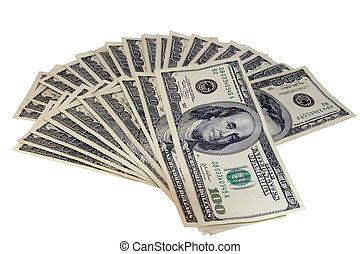 argent comptant dur froid, $$