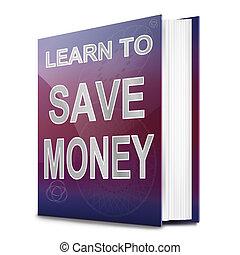 argent, concept., économie