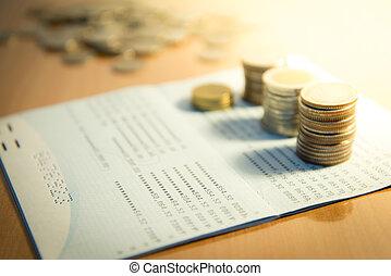 argent, concept, économie