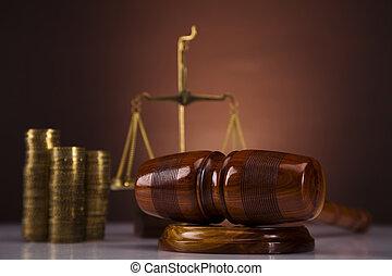 argent, concept, droit & loi