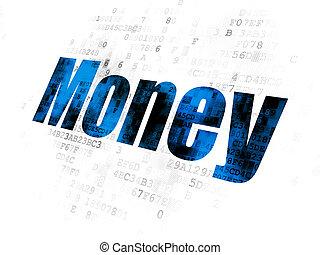 argent, concept:, finance, fond, numérique