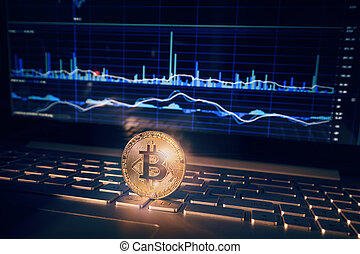 argent, concept, numérique