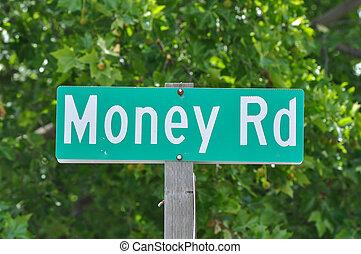 argent, concept, route