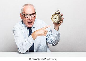 argent, concept., temps