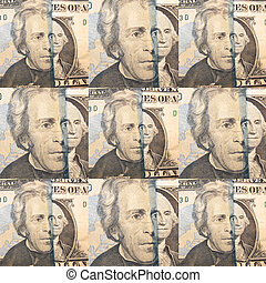 argent, devise usa, fond