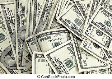 argent, dollar, haut, nous, fin