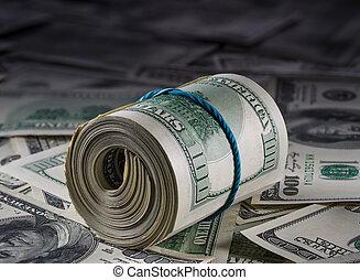 argent, dollars américains