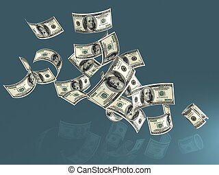 argent, dollars