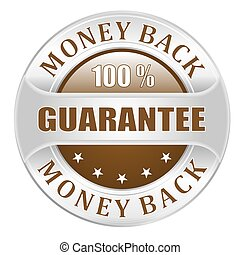 argent, dos, garantie