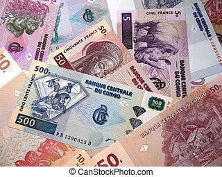 argent, est, les, démocratique, république