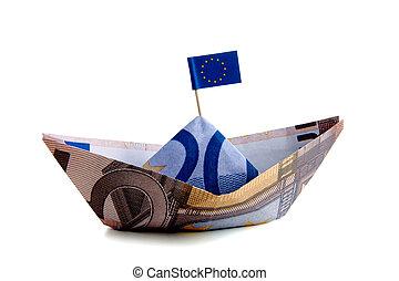 argent, euro