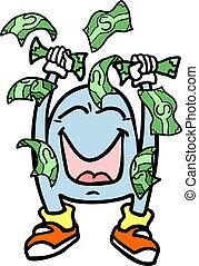 argent, gagnant
