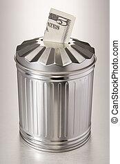argent gaspillage