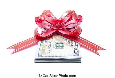 argent, gift.