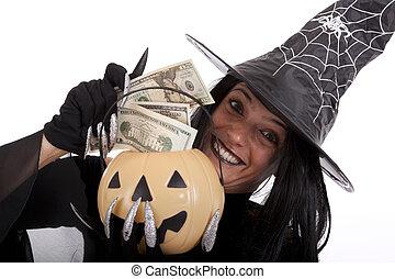 argent, halloween