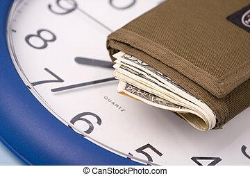 argent, horloge