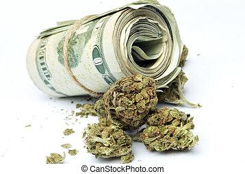 argent,  Marijuana