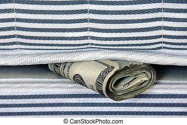 argent, matelas