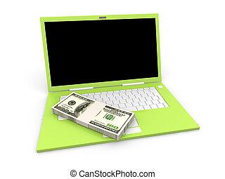 argent, numérique