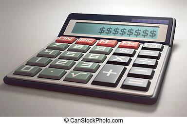 argent, pertes, calculer, gains