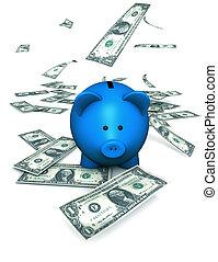 argent, piggybank