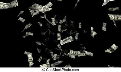 argent, pluie