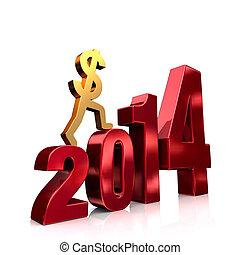 argent, plus, 2014