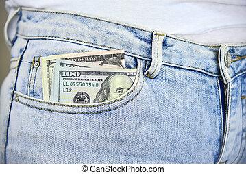 argent poche, jean