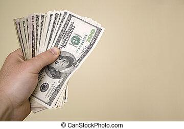 argent, poignée