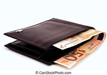 argent, portefeuille